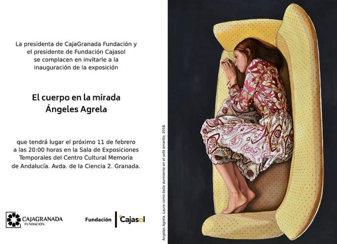 """Ángeles Agrela inaugura """"El cuerpo en la mirada"""" en el Museo Memoria de Andalucía"""