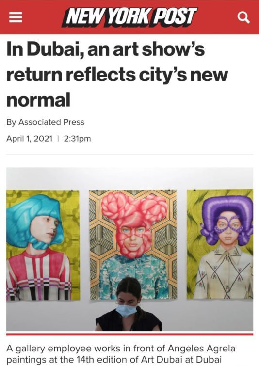 New York Post: In Dubai, an art show's return reflects city's new normal